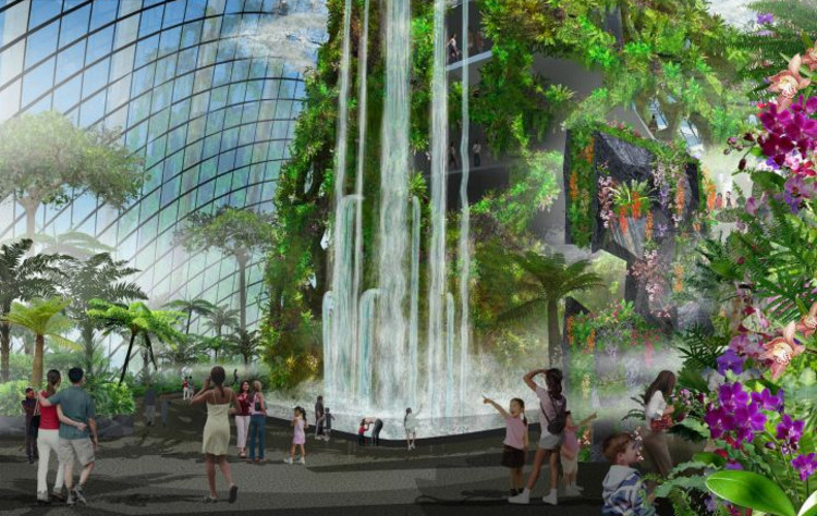 Gardens By The Bay Grant Associates And Wilkinson Eyre Architects Archdaily