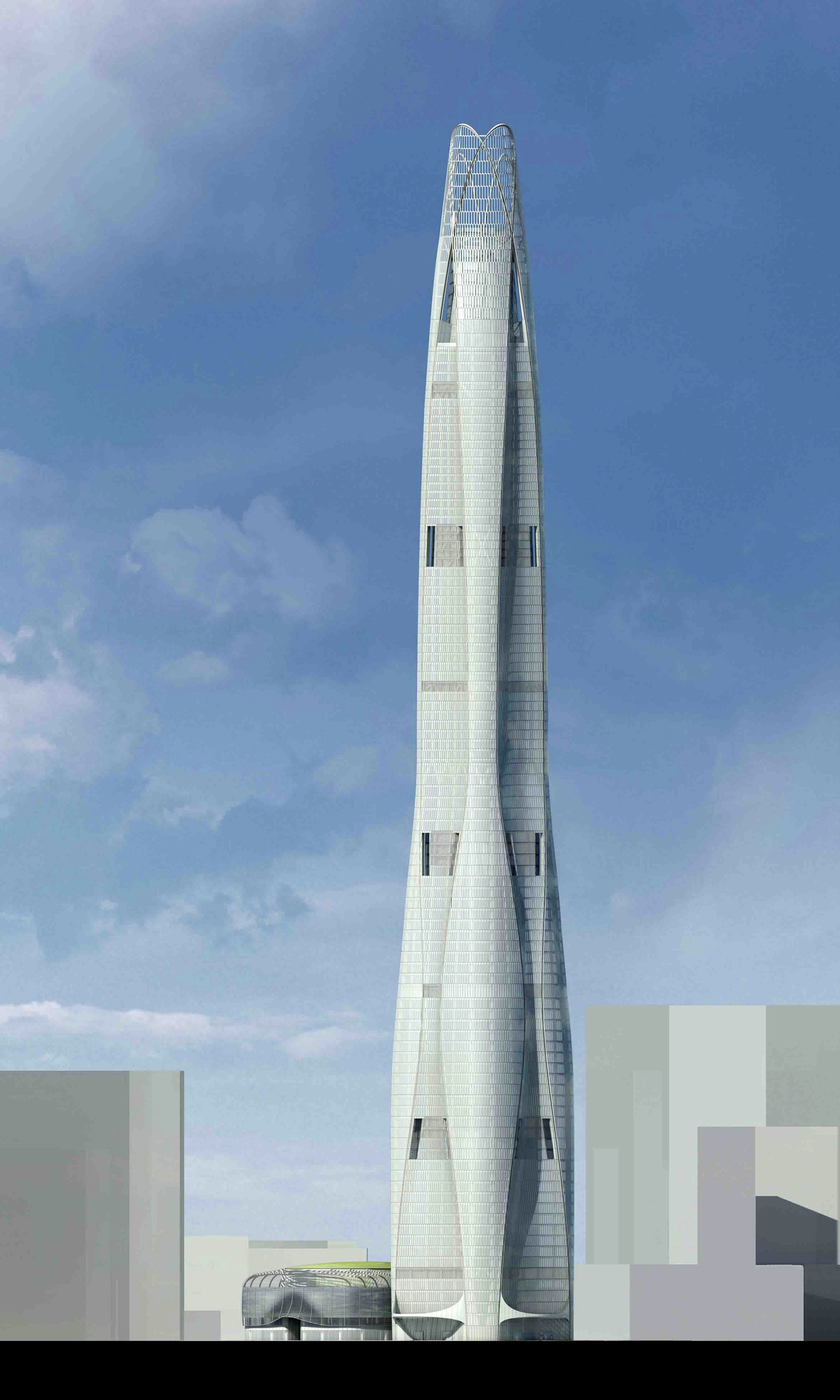 Ctf Tianjin Tower Breaks Ground Som Archdaily