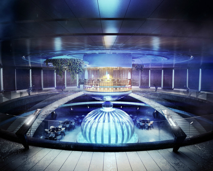 underwater hotel planned for dubai archdaily