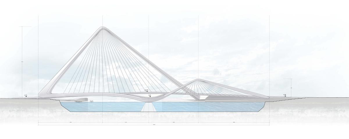 Gallery Of Infinity Loop Bridge 10 Design Buro Happold 9