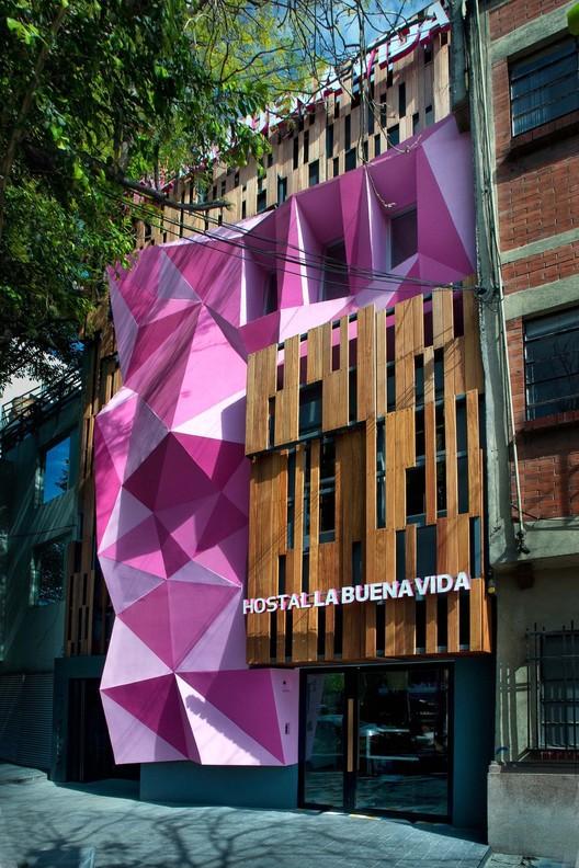 Hostel la buena vida arco arquitectura contempor nea for Arquitectura mexicana moderna