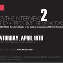 CRAFTING THE INTERVIEW 2: PORTFOLIO + RESUME REVIEW DAY