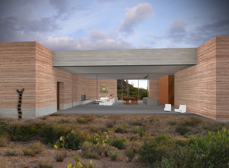 Tucson Mountain Retreat Dust Design Build Archdaily