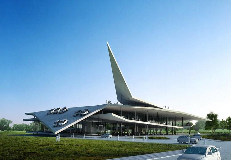 Automobile Museum In Nanjing 3gatti Architecture Studio Archdaily