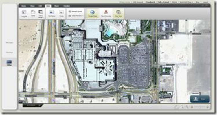 Overlay 2D AutoCAD DWG on Google Maps with AutoCAD WS | ArchDaily