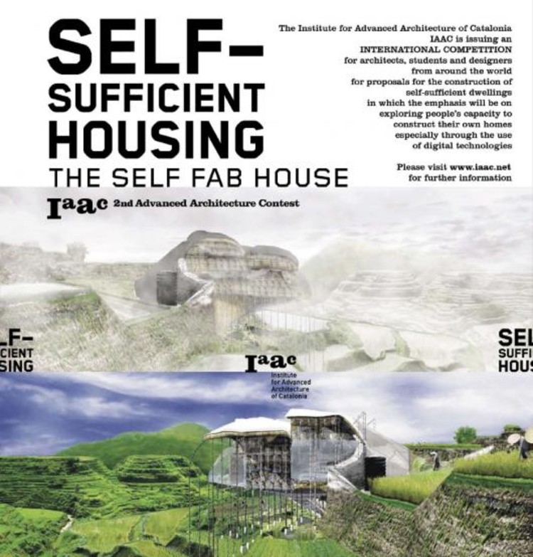 Concurso: Iaac 2nd Advanced Architecture Contest :: Self-Sufficient Housing