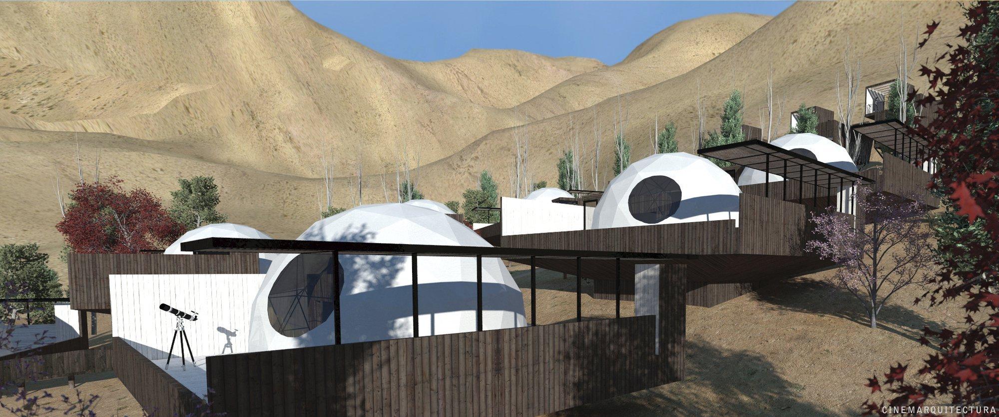 Galería de Hotel Astronómico Elqui Domos / Duque Motta ...