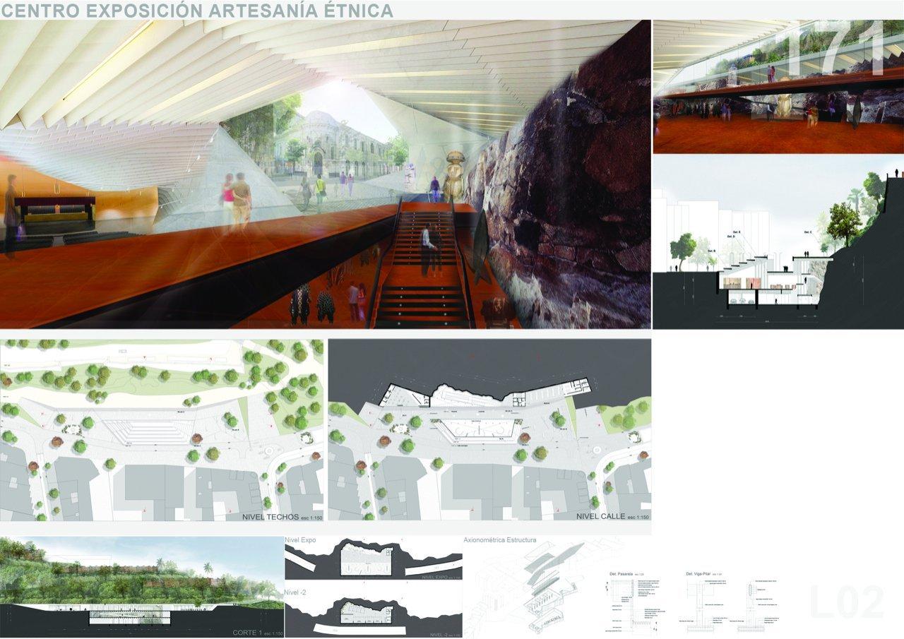 Galer a de primer lugar concurso nacional de proyectos de for Arquitectura de proyectos