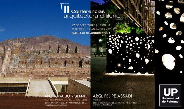 Conferencia arquitectura chilena felipe assadi e ignacio - Arquitectos famosos espanoles ...