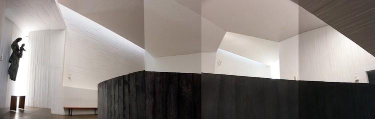 """Articulo """"La iglesia del Monasterio Benedictino de la Santísima Trinidad de Las Condes. Propuestas precedentes"""" / Ruben Muñoz"""