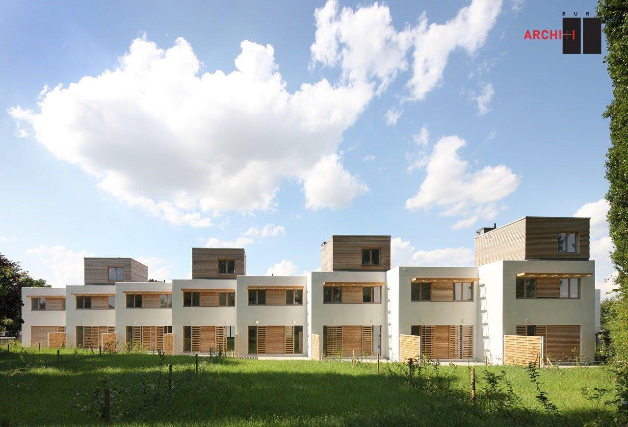 Galer a de vivienda social sustentable st agatha berchem for Buro ii archi i