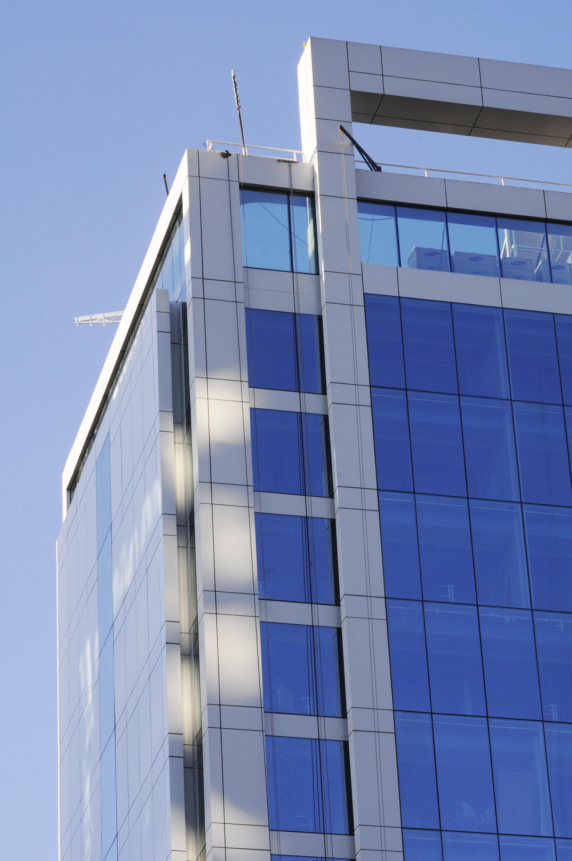 Galer a de las vigas celulares en la construcci n de for Construccion de oficinas