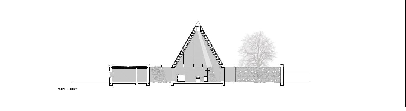 Bayer Strobel galería de capilla funeraria ingelheim bayer strobel architekten