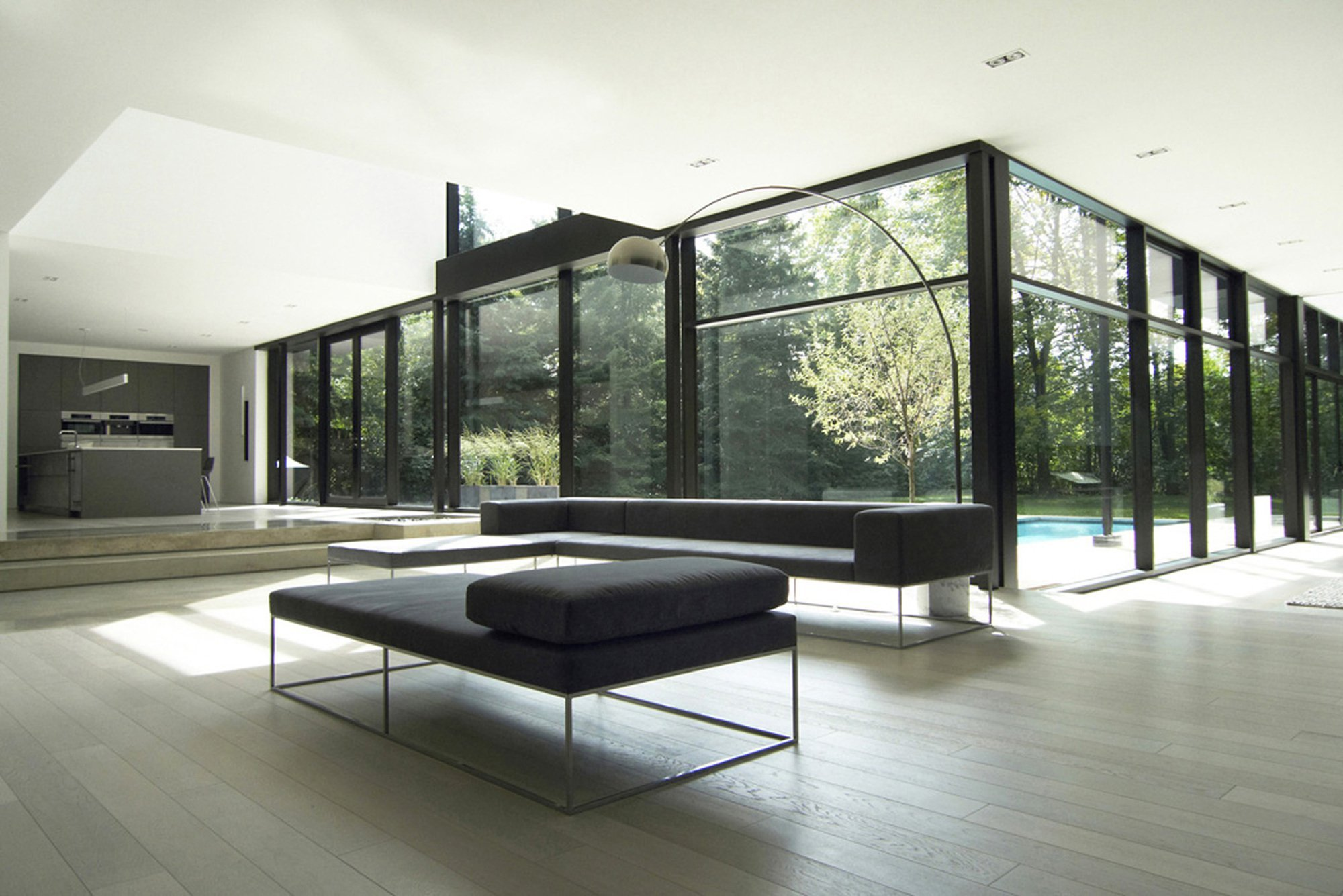 Casa oakville guido costantino plataforma arquitectura for Colores para casas minimalistas
