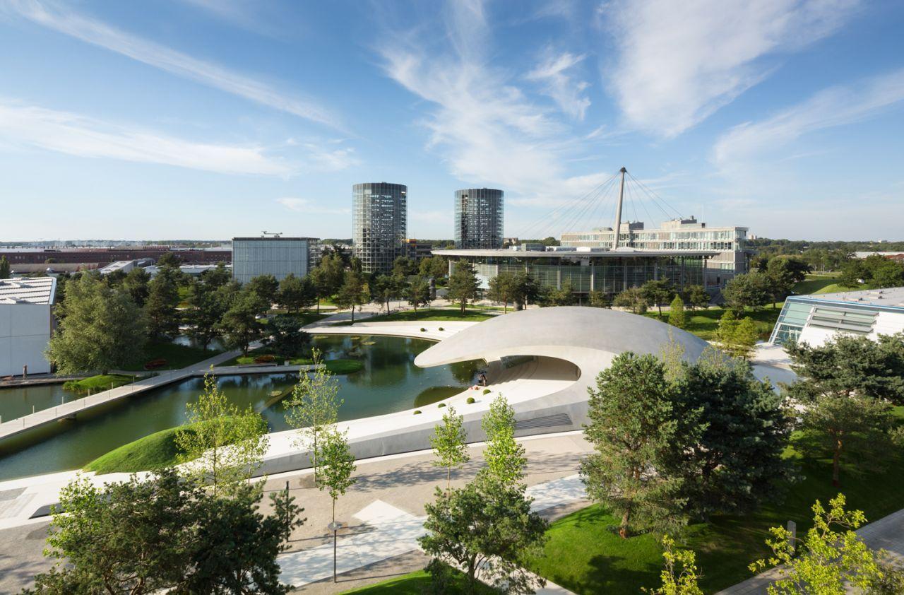 Architekten Wolfsburg galería de pabellón porsche en el autostadt de wolfsburg henn architekten 24