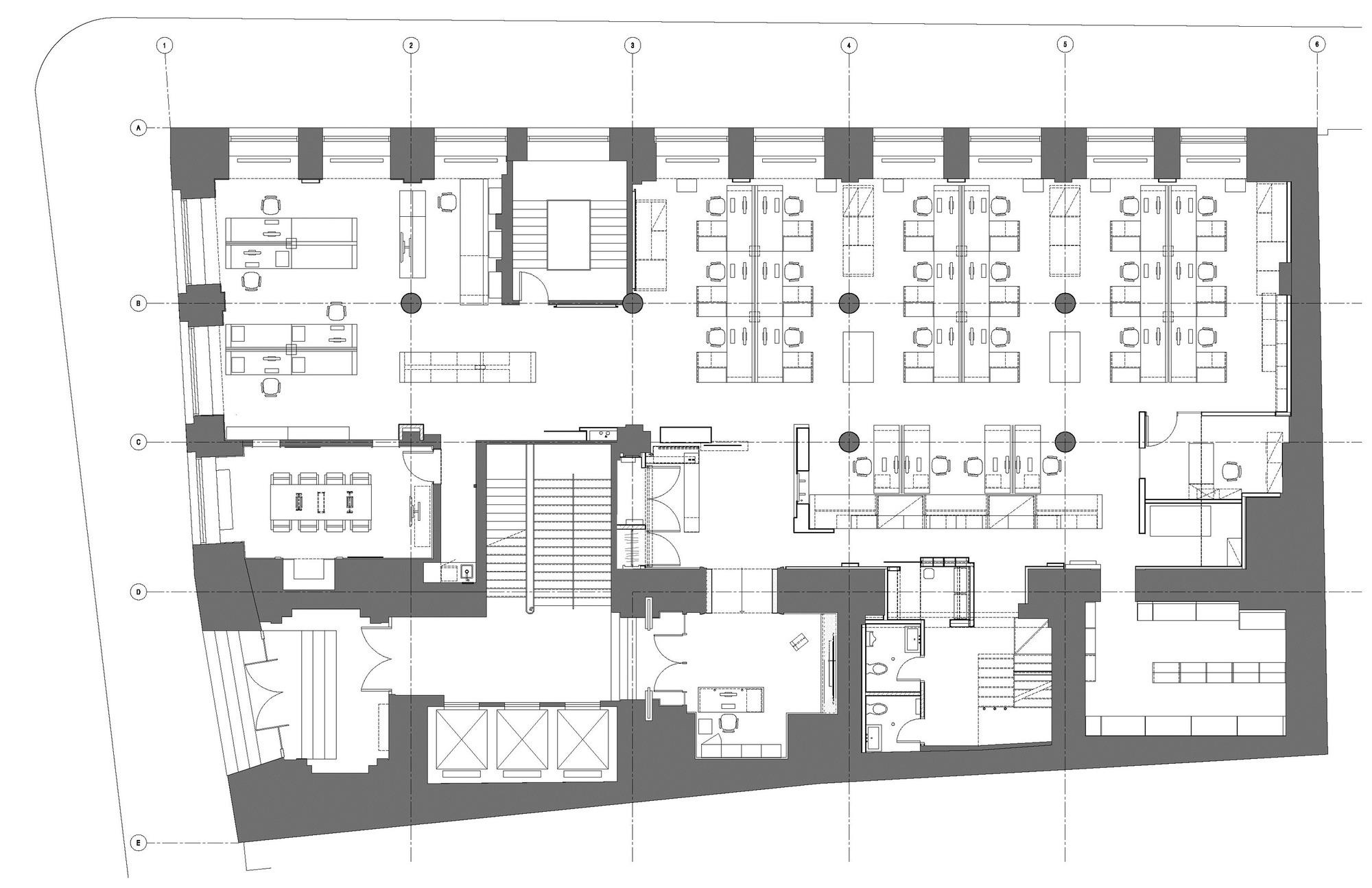 galer a de bureau 100 nfoe et associ s architectes 8. Black Bedroom Furniture Sets. Home Design Ideas