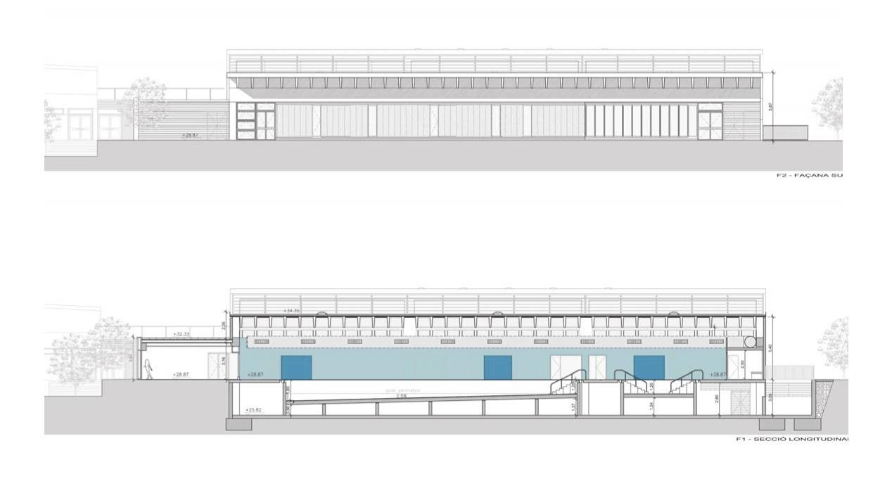 Galer a de piscina cubierta atmella pich aguilera for Alberca 8 x 5