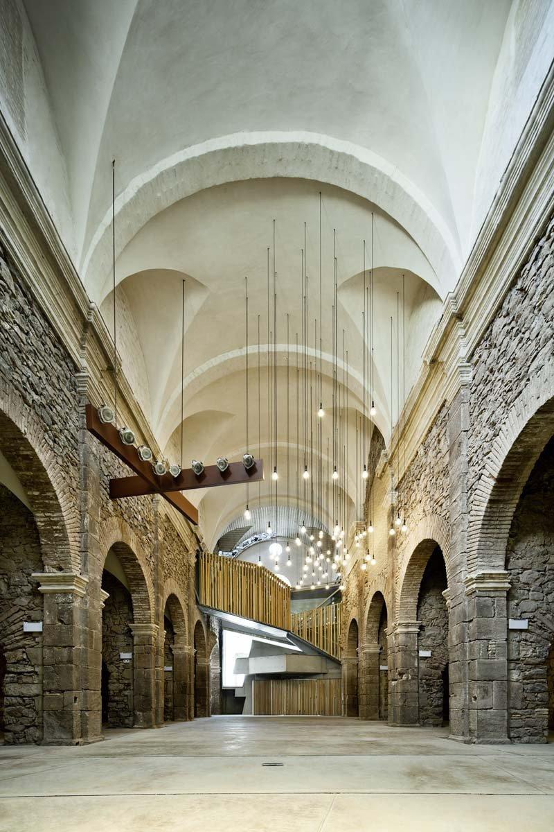 Convent de sant francesc david closes plataforma for Plataforma de arquitectura