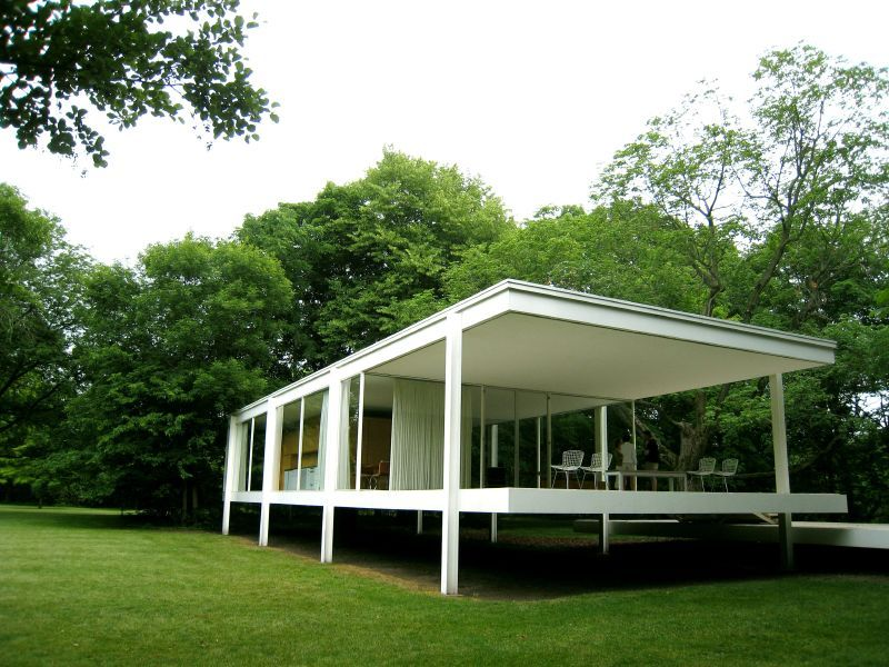Galer a de cl sicos de arquitectura casa farnsworth - Casa farnsworth ...