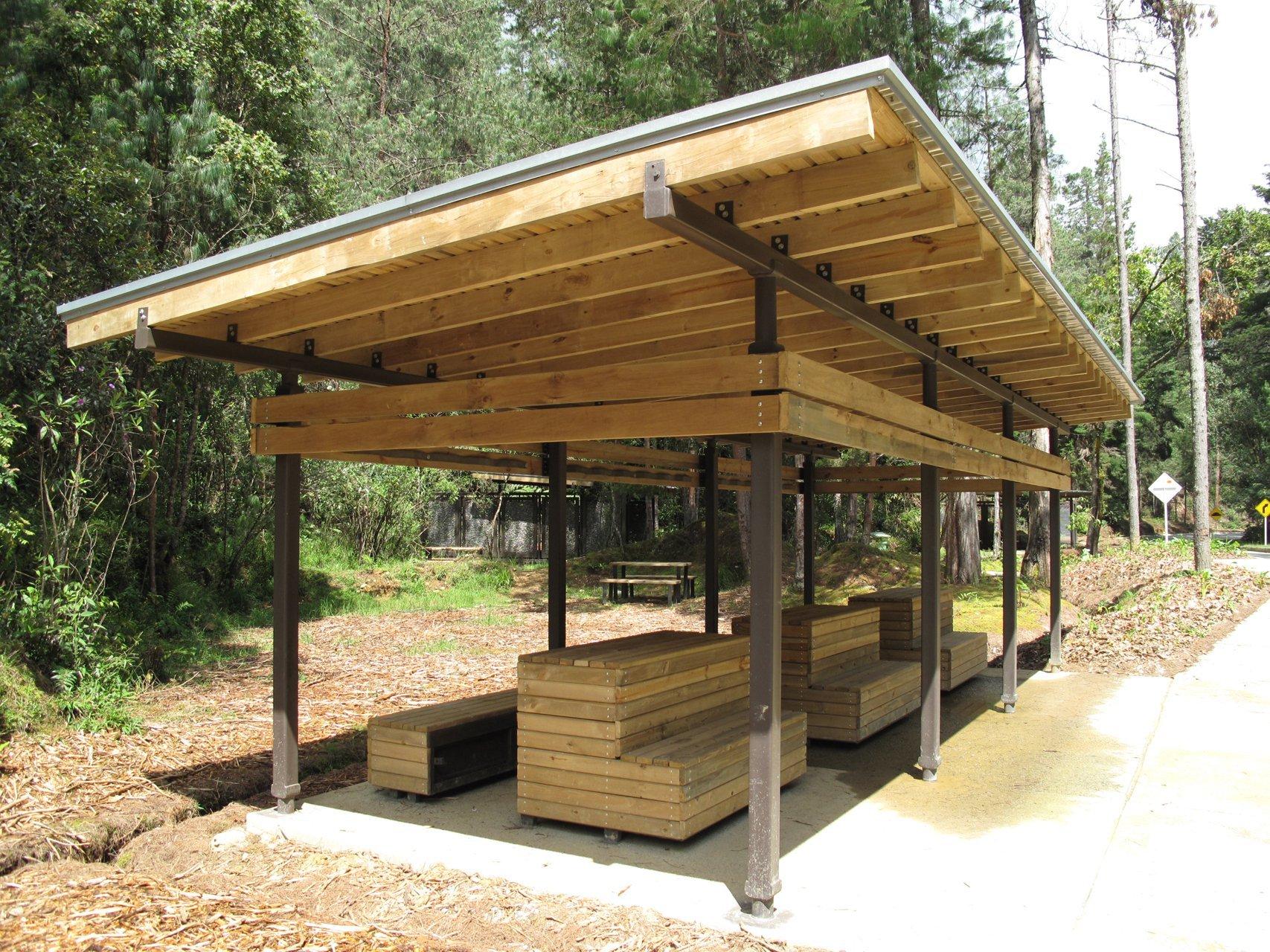 Galer A De Mobiliario Urbano Para El Parque Arvi Escala