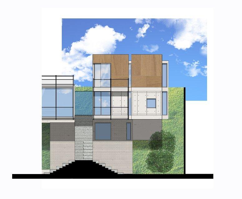 En construcci n casa bosque materia arquitect nica for Arquitectura materias