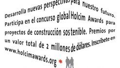 Últimos días del Concurso de Proyectos Sostenibles Holcim Awards