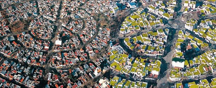 Verde Sobre Gris - Cubiertas Verdes para Buenos Aires