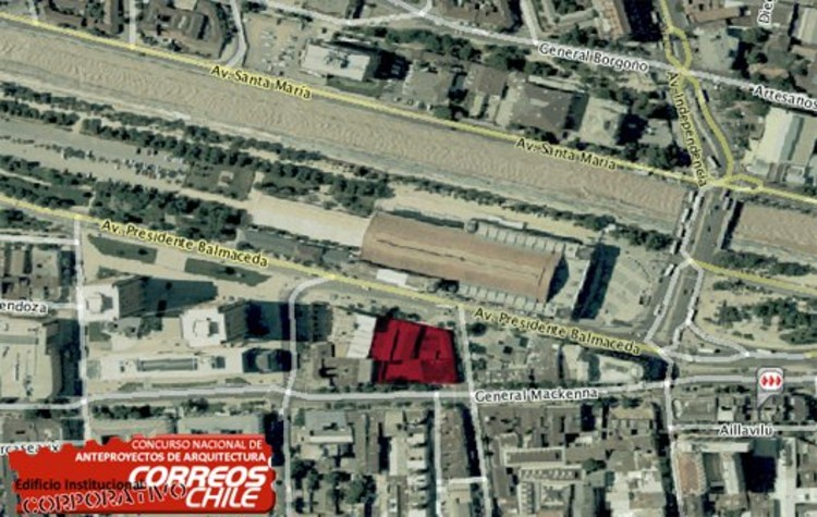 Concurso Anteproyecto Edificio Institucional de Correos de Chile
