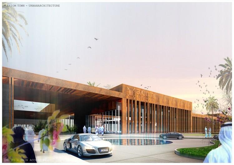 Mbad arquitectos oficina plataforma arquitectura for Accesos arquitectura