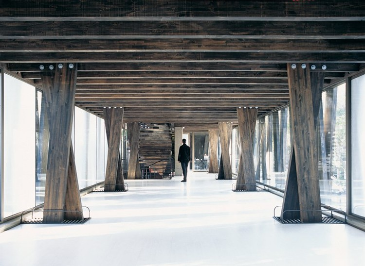 21 Detailed Construction Sections for Wood Structures, © Cristobal Palma / Estudio Palma