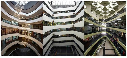 Espacio continuo registro tipol gico de los caracoles - Espacios comerciales arquitectura ...
