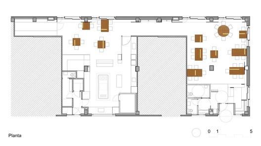 Restaurante en santiago de compostela arrokabe arquitectos plataforma arquitectura - Arquitectos santiago de compostela ...