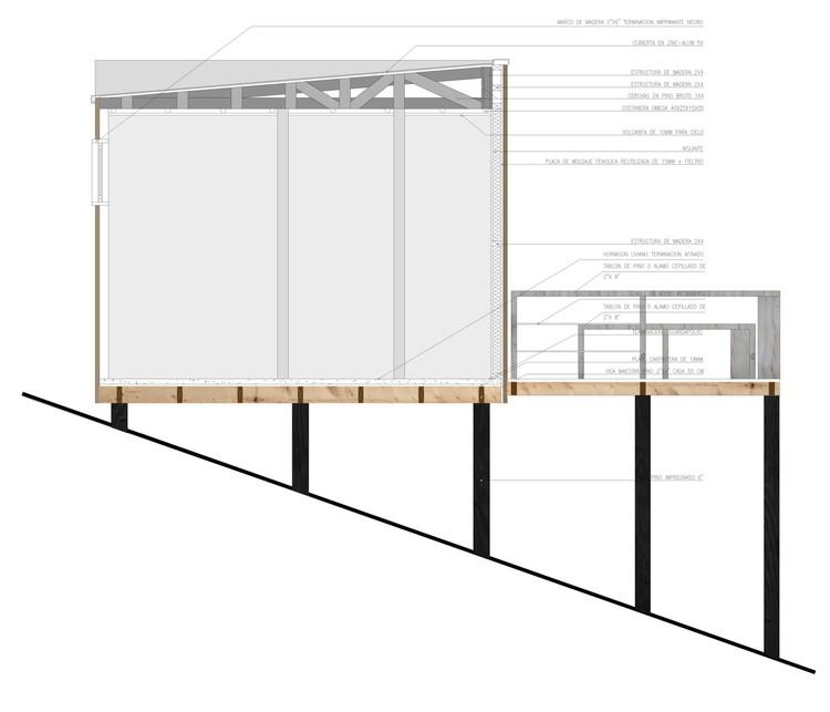 En Detalle: Cortes Constructivos / Estructuras de Madera ...