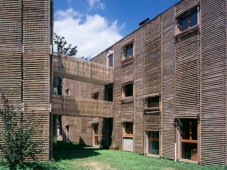 Vivienda colectiva la closeraie edouard fran ois for Vivienda arquitectura