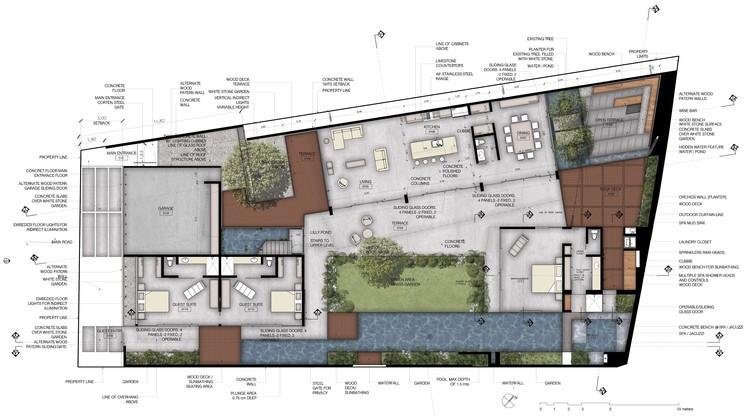 Casa s datum zero plataforma arquitectura for Plantas arquitectonicas de casas
