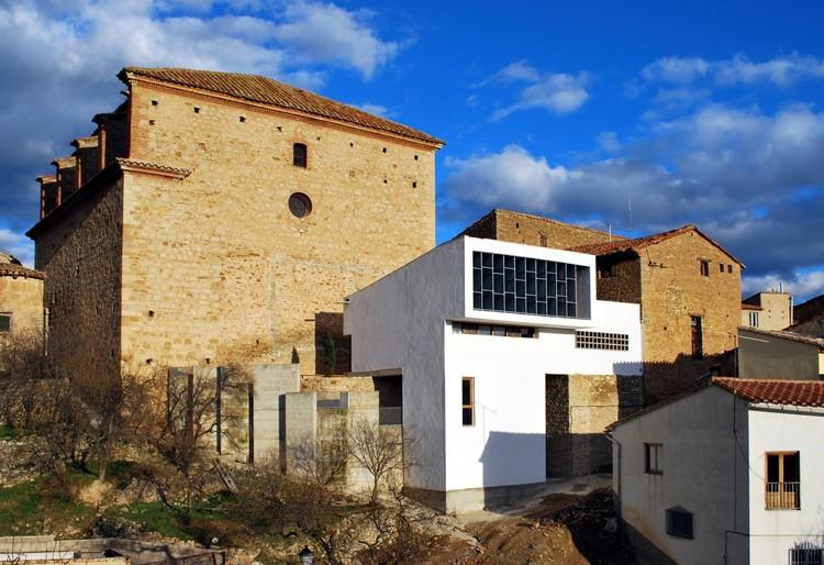 Local municipal en la mata de morella plataforma - Garcia ruiz arquitectos ...