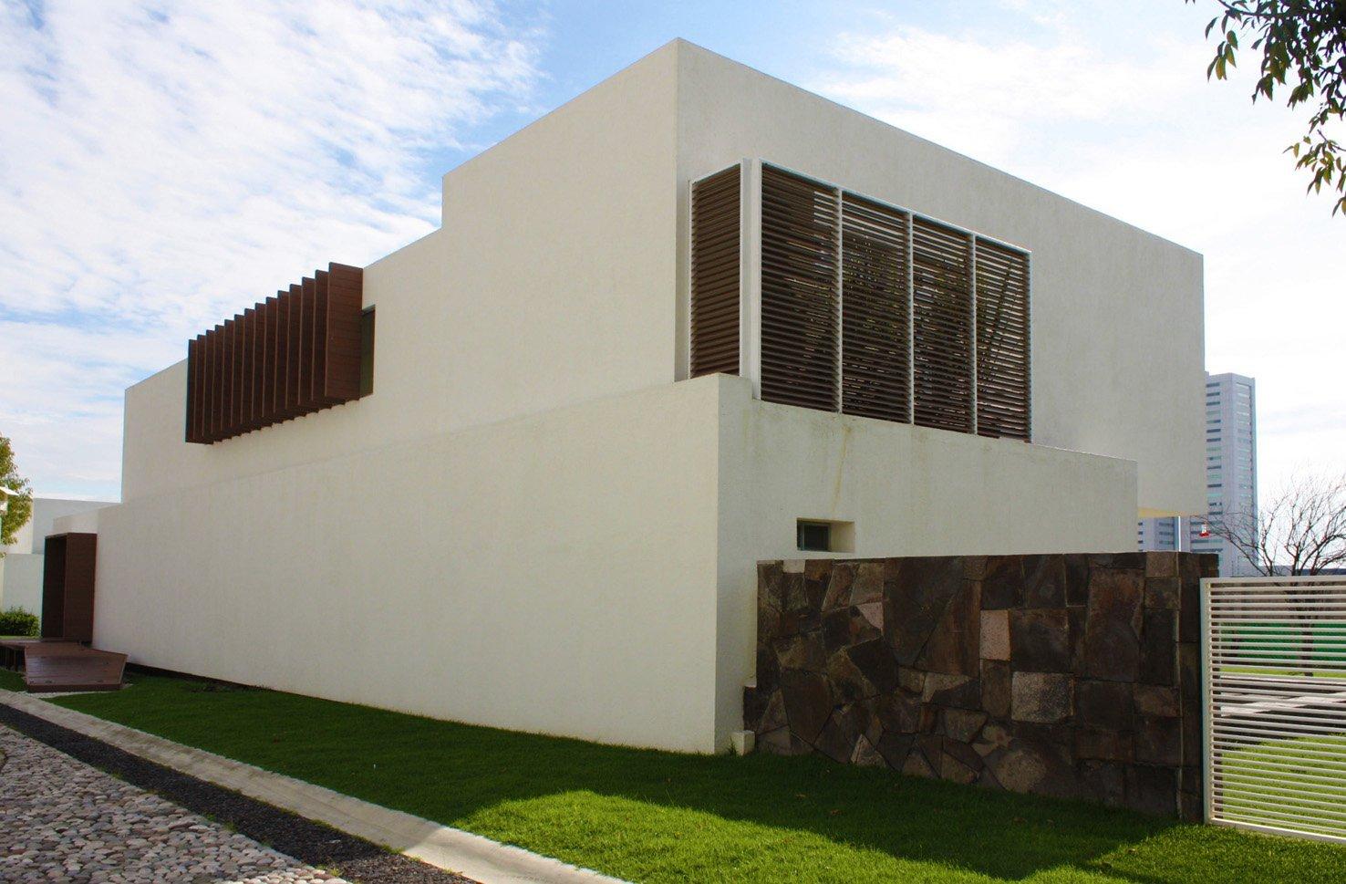 Materiales para fachadas modernas fachada principal with - Materiales fachadas modernas ...
