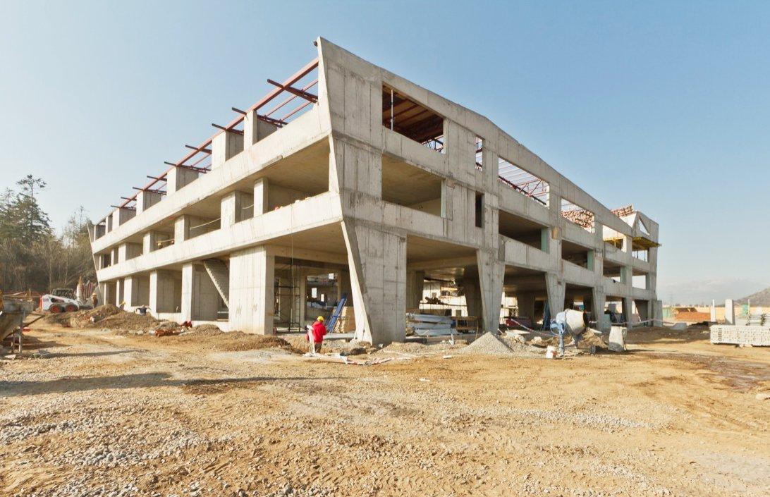 Galer a de en construcci n colegio alicante del valle - Arquitectos en alicante ...