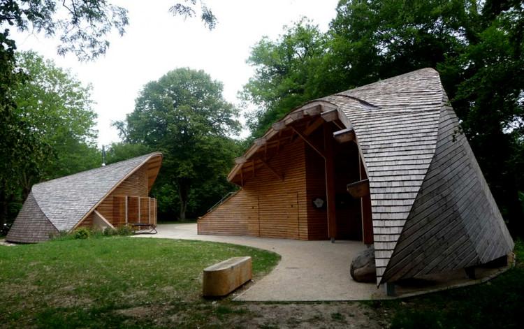 Centro de ecoturismo en francia inca architects for Architecte fontainebleau