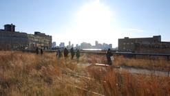 Plataforma en Viaje: New York High Line (invierno),  Diller Scofidio + Renfro y Field Operations