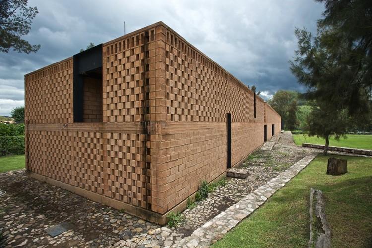 En Detalle: Celosía de Blocks / Refugio Ruta del Peregrino, Luis Aldrete, © Francisco Perez