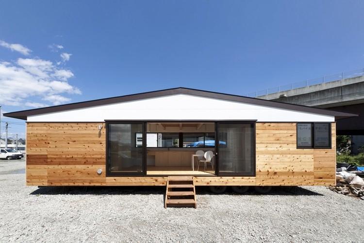 La casa m vil sobre ruedas del atelier tekuto - Casas modulares moviles ...