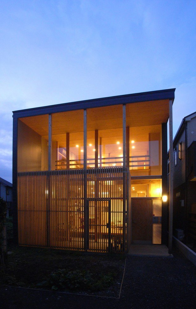 Galer a de casa con futokoro mizuishi architects atelier for De atelier architects