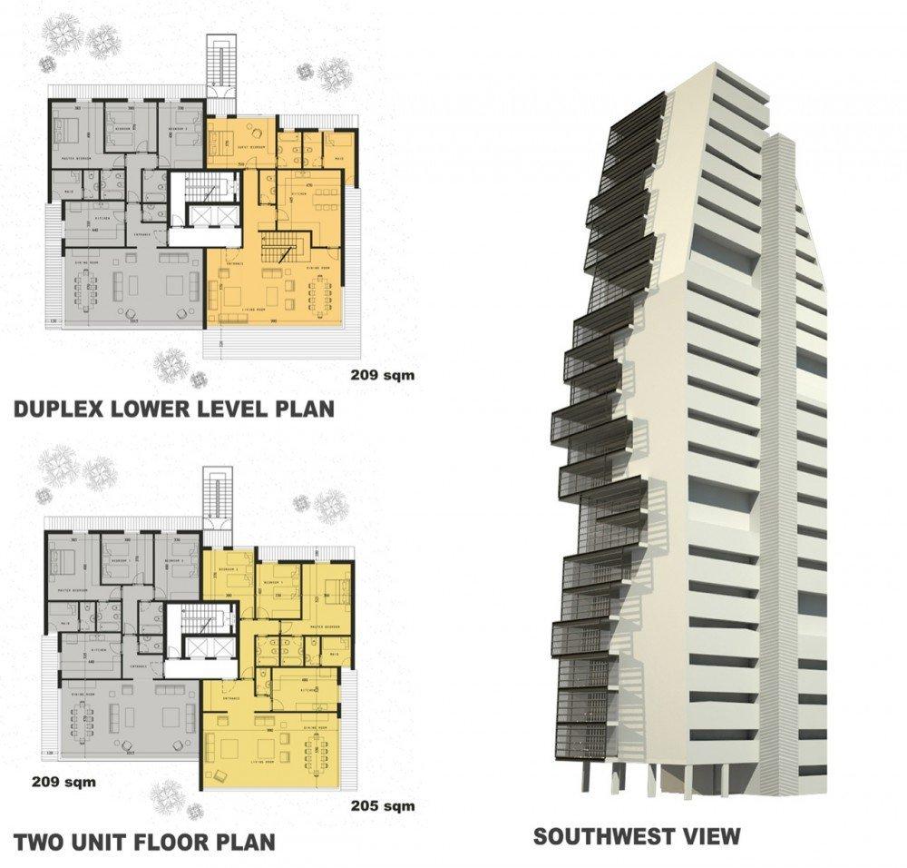 Edificio Residencial En Beirut Accent Design Group