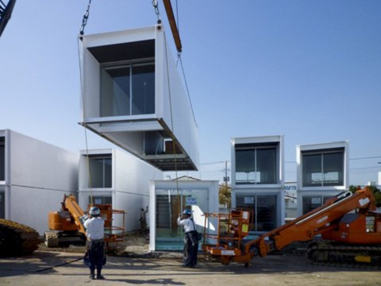 En detalle containers plataforma arquitectura for Precast concrete homes florida