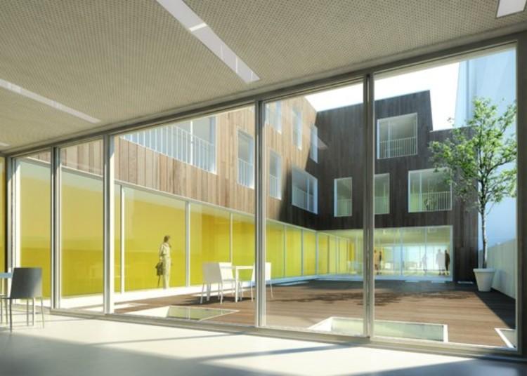 residencia para el discapacitado atelier z ndel cristea plataforma arquitectura. Black Bedroom Furniture Sets. Home Design Ideas