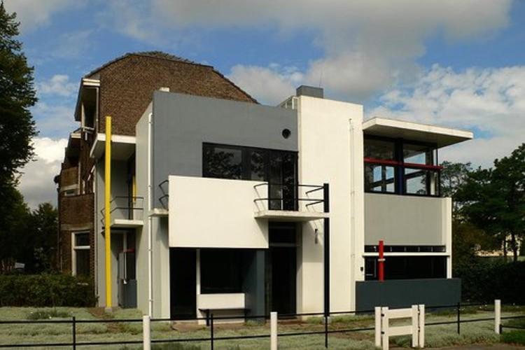 Cl sicos de arquitectura casa rietveld schroder gerrit for Casa de los azulejos arquitectura