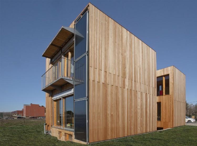 La primera vivienda pasiva de espa a plataforma arquitectura - Josep bunyesc ...