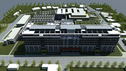 Nuevo Hospital de Talca / Álvaro Prieto Lindholm