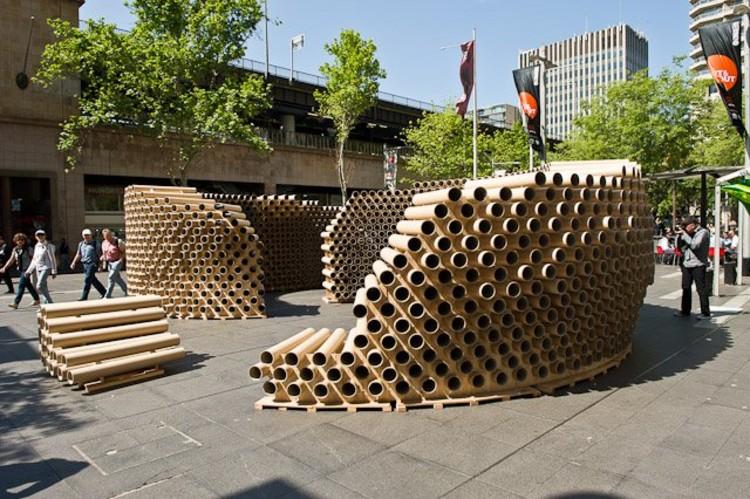 Roll Play – Pabellón Temporal para el Festival de Arquitectura de ...